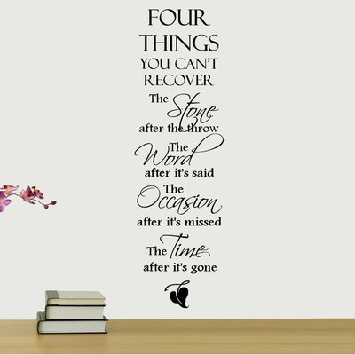 Four+Things+You+Can't+Recover+Quote+Wall+Decal.jpg